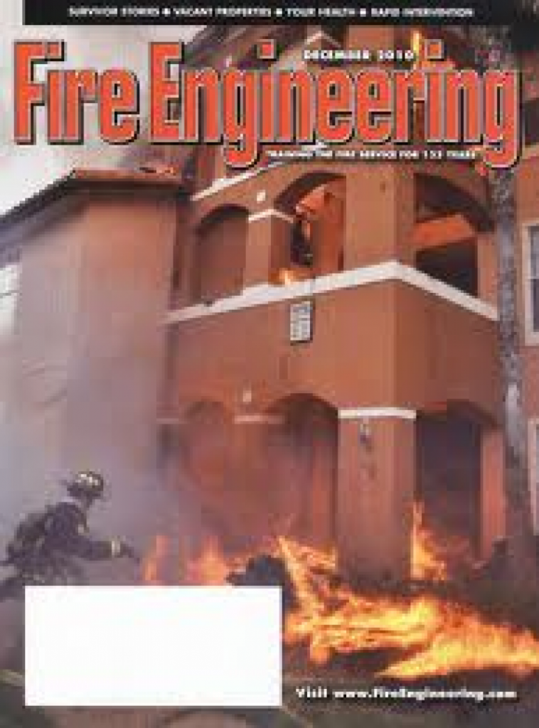 Memeber of Lafayette Twp. Fire Has Article Published in Worldwide Fire Magazine