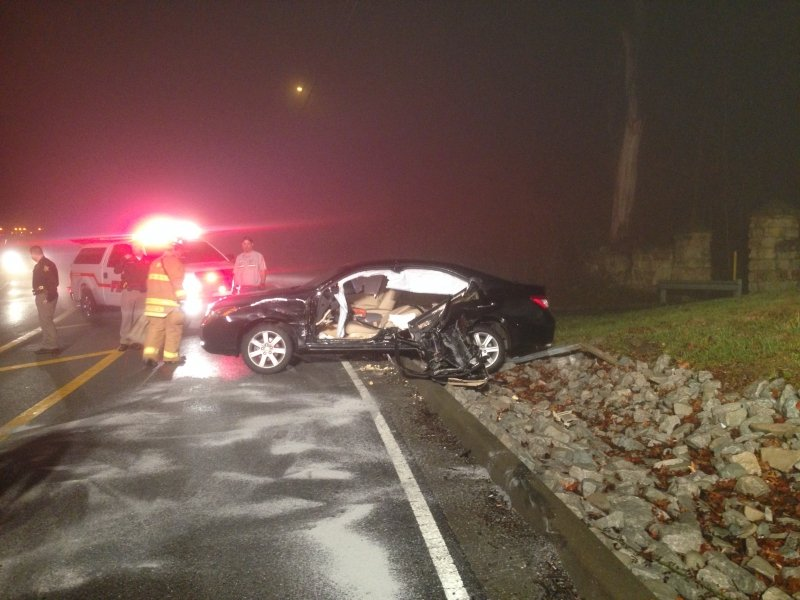 Lafayette Township Fire Protection District responds To Vehicle Crash With Entrapment On Paoli Pike.