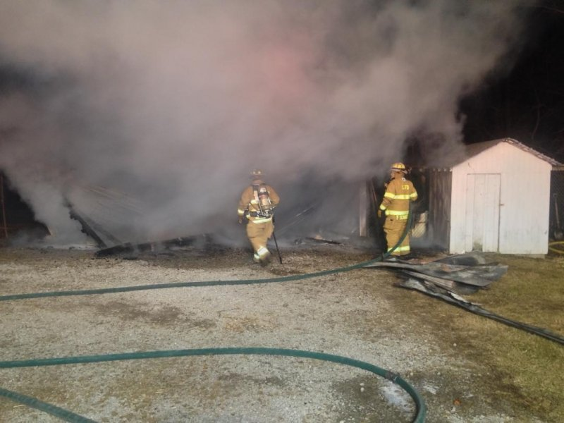 Early Morning Structure Fire On Balmer Fenwick Rd Tuesday