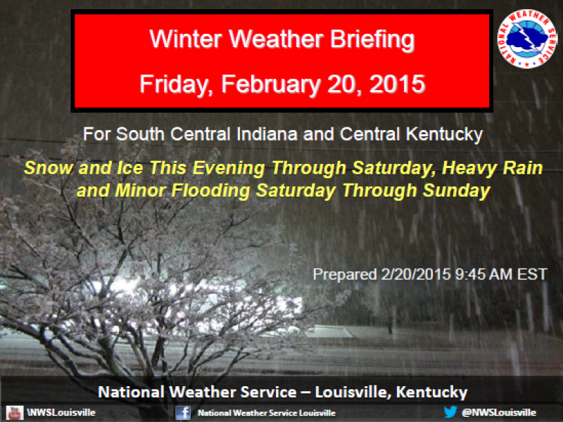 New Update on the Winter Storm WARNING For Tonight And Tomorrow