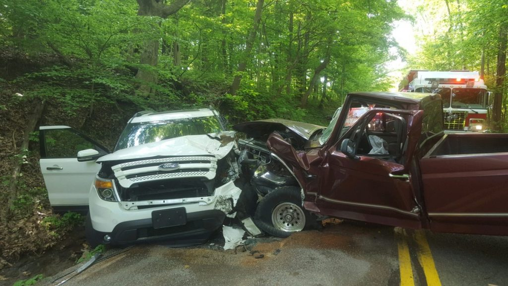 Head On Vehicle Crash On Scottsville Rd Sends Two To Hospital Wednesday