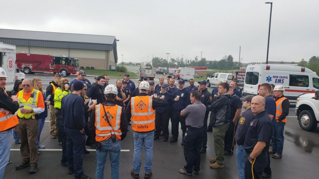 LTFPD Participates In LEPC HazMat Exercise With Other Floyd Co. Fire Departments