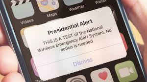 Nationwide Emergency Alert Testing Tomorrow (Oct. 3rd, 2018)