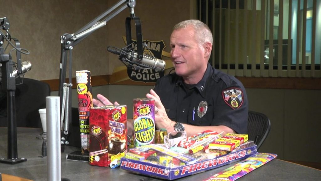 ISP Roadshow Talks With Capt. Mike Pruitt About Firework Safety